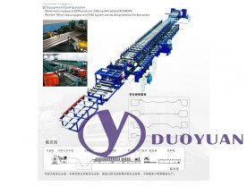 Roll Forming Equipment for Van Box Panel