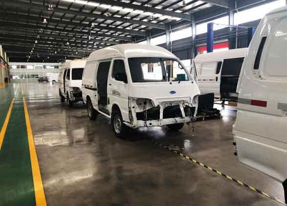 Cargo Van Assembly Line