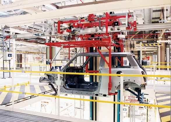 EMS System (Automated Electrified Monorail System)