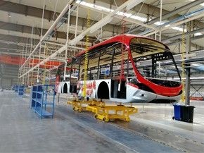 Luoyang Yinlong Bus Production Line Project